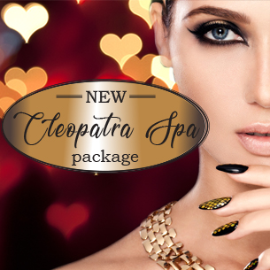 NEW Cleopatra Spa Package