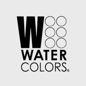 watercolors grayscale