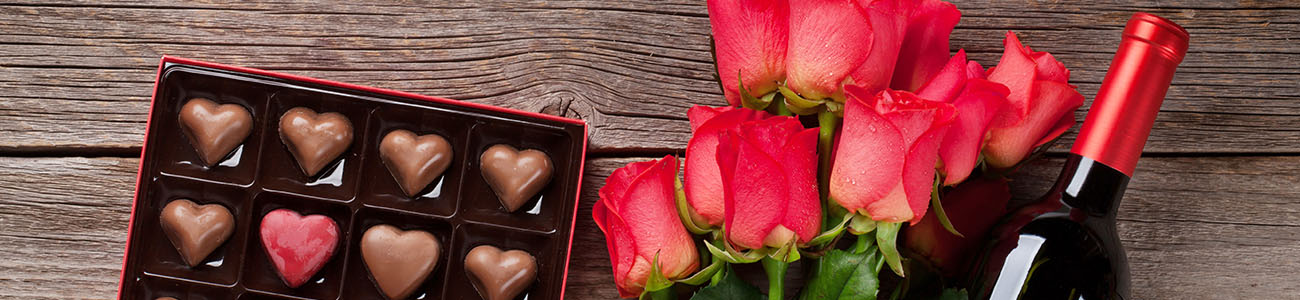 chocolate wine valentines treats