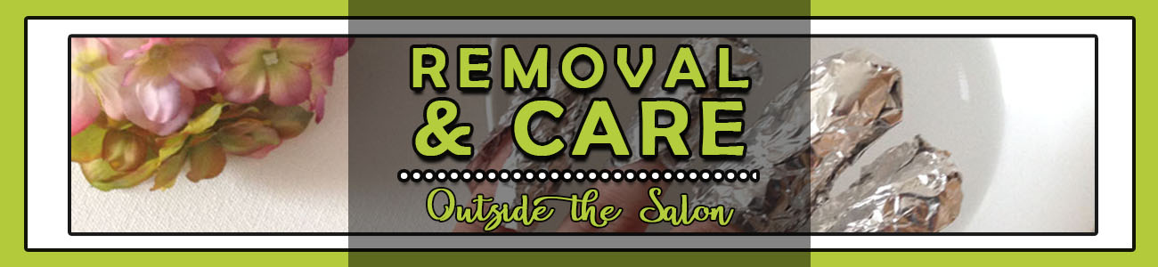 removal and care outside the salon