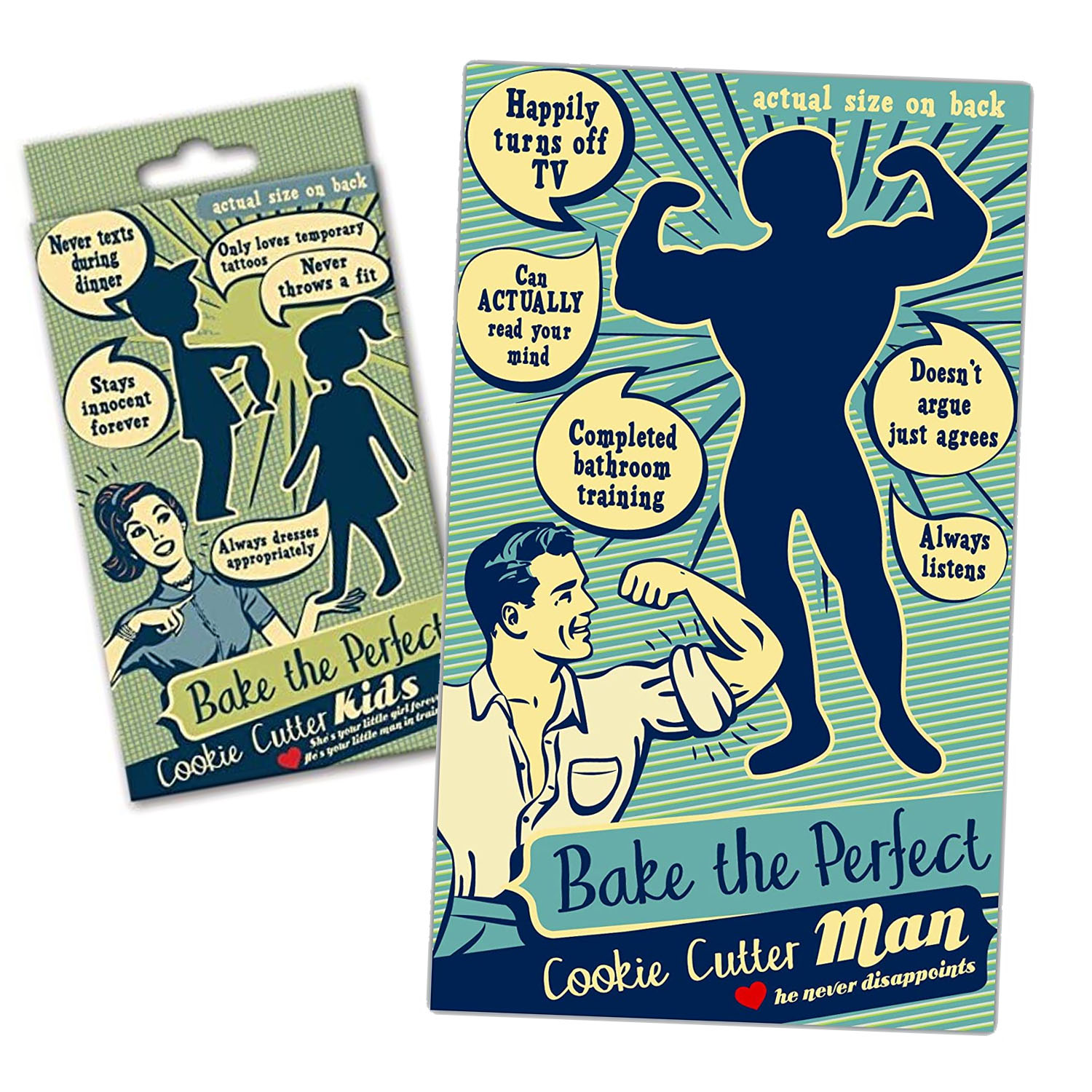 Bake Yourself The Perfect Man or Kids!